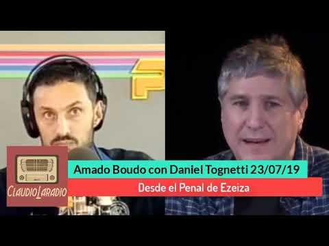 Amado Boudou con Daniel Tognetti desde el Penal de Ezeiza 23/07/19