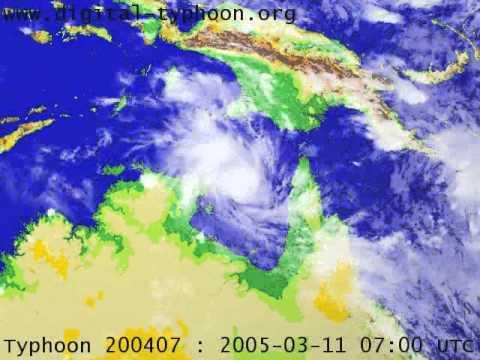 Severe Cyclone Ingrid 2006