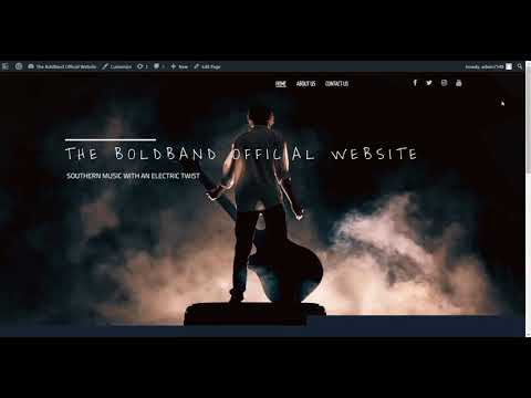 Easily Create Beautiful Music Websites with BoldGrid