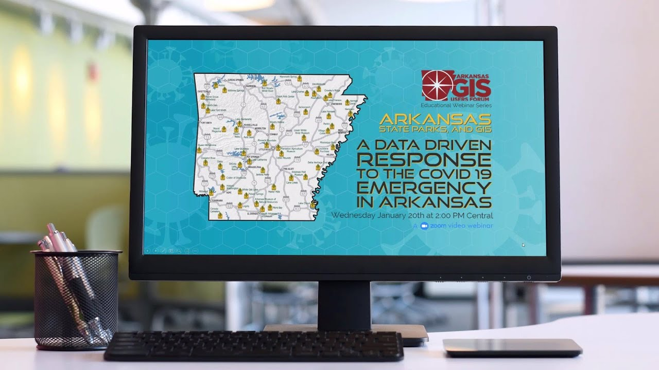 Watch the live 📺 recording of this month's Arkansas GIS Educational Webinar Series [EP1.21]