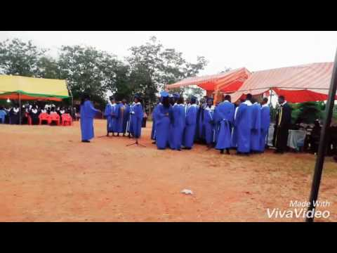 Mass singing Band of Nkawie Toase