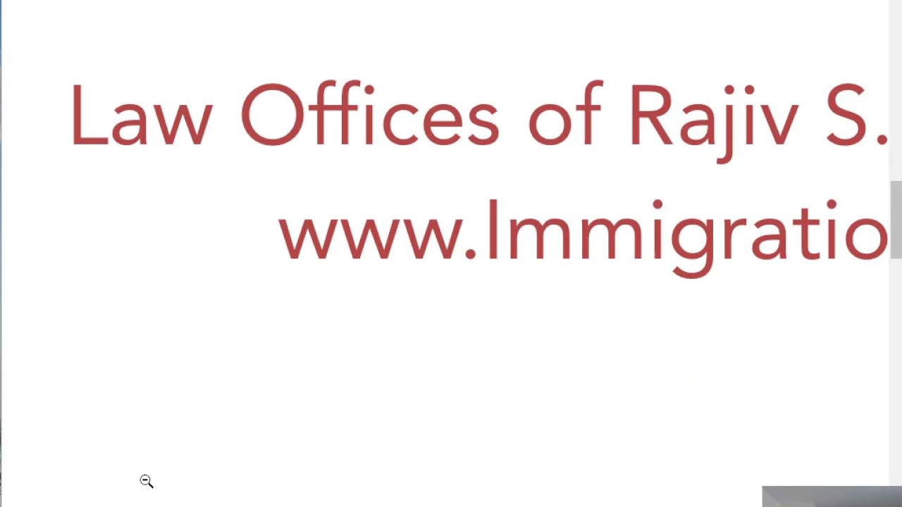 H Visa | US Immigration Lawyer, Law Offices of Rajiv S