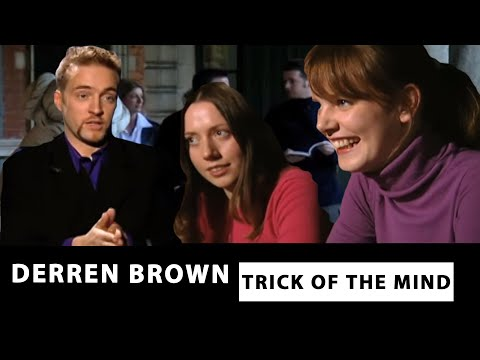 Derren Brown with Psychology Students