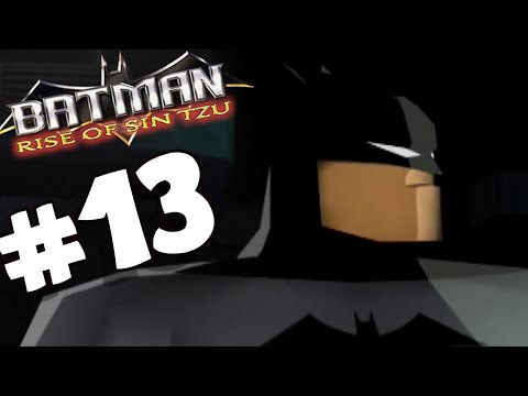 Batman Rise of Sin Tzu PART 13 Heart of the Asylum (Co-op)