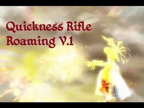 Guild Wars 2: Kitless-Quickness-Rifle Engineer | Nightmare Fuel! Roaming V.1
