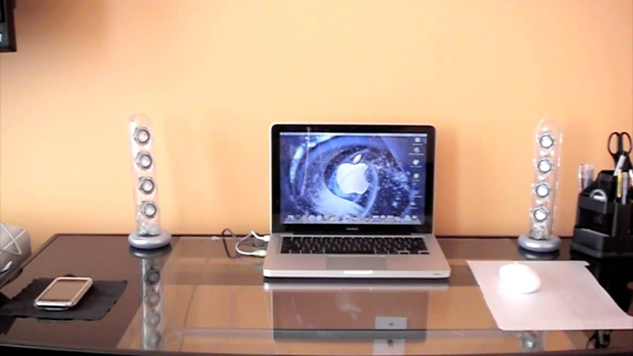 Review Harman Kardon Soundsticks Speakers Youtube
