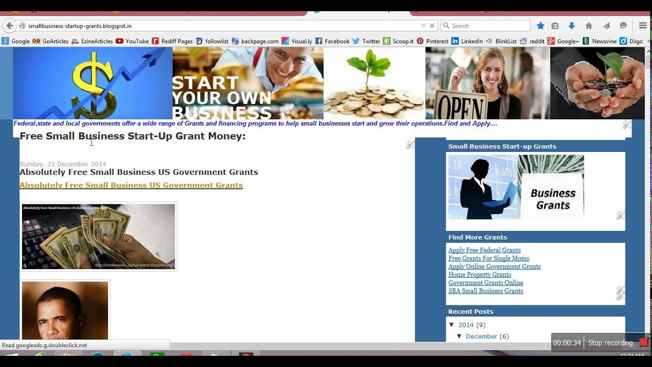Women Small Business Start up Free Government Grants Money ...