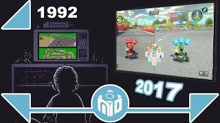 La EVOLUCION de Mario Kart - La carrera al Mario Kart definitivo | NDeluxe