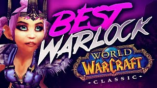 the BEST WARLOCK in Classic? Old Skool WPVP