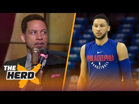 Chris Broussard on the 76ers struggling and its impact on LeBron's next move | NBA | THE HERD