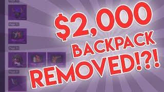 [TF2] $2,000 Backpack BANNED?! + 2,000 Member Steam Group REMOVED?