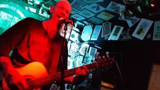Nick Oliveri  - Death Acoustic. Performing Outlaw Scumfuc by GG Allin. The Anvil, Bournemouth 2017