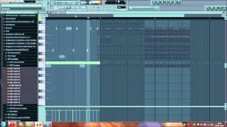 Zedd - Slam The Door [FL Studio] (Remake Josh Lorenzen) + Sylenth1