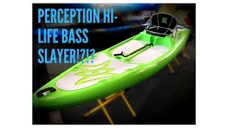 Fishing with the Perception Hi-Life 11.0