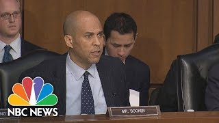 Senator Booker On S***hole Comment: Silence Is Complicity   NBC News