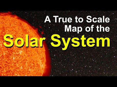 A 3D Map of the Solar System Map – A Short Documentary