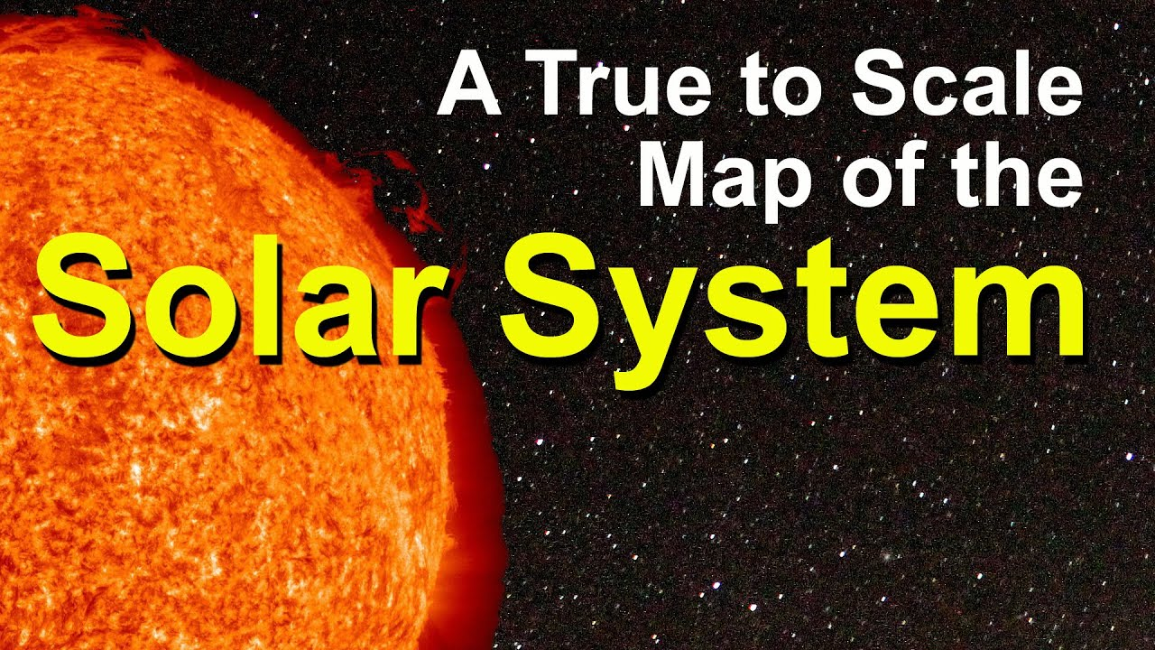 A D Map Of The Solar System Map A Short Documentary YouTube - Accurate map of the solar system