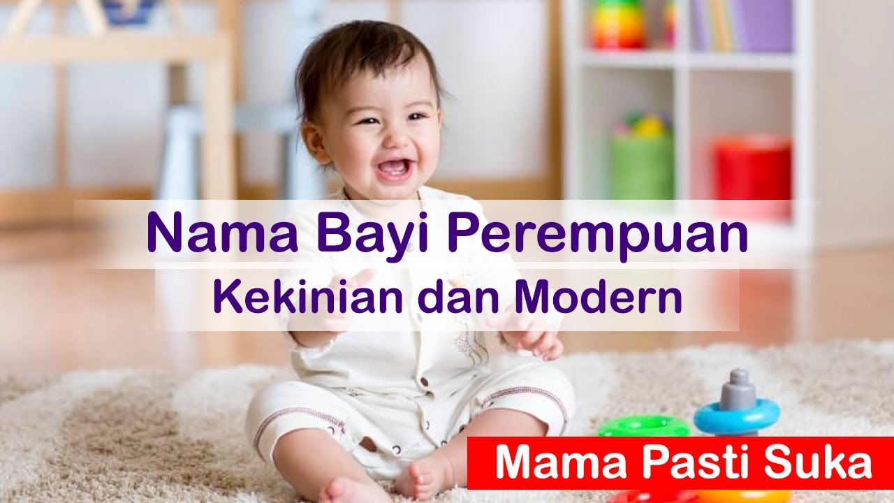 50 Rangkaian nama bayi perempuan modern dan kekinian (bunda pasti suka)