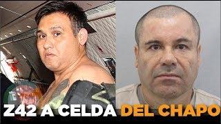 """Celda de """"El Chapo"""" es ocupada por """"El Z-42"""" en El Altiplano"""