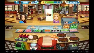кухонная Лихорадка Суши Бар (Уровень 40)/ Cooking Fever Sushi Restaurant (Level 40)