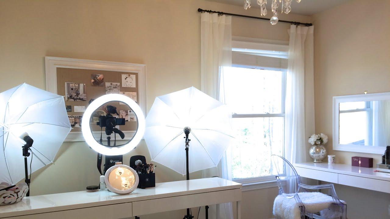 Beauty Lighting Setup