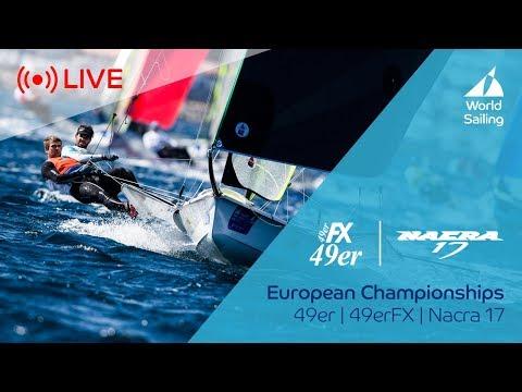 LIVE Sailing | 49er / 49erFX / Nacra 17 European Championships | Kiel, Germany 4 August 2017