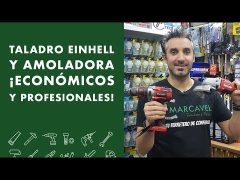 Taladro Einhell y amoladora! Económicos y profesionales!