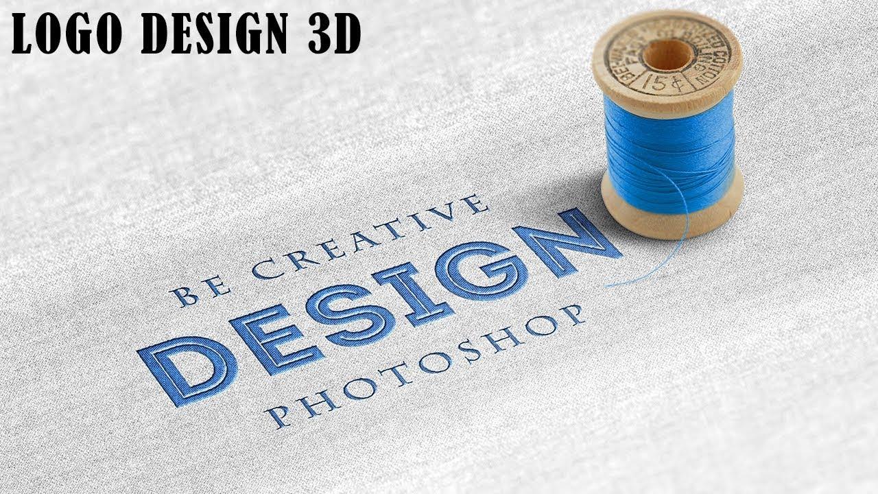 Download 3d mockup logo design in photoshop | How to Make 3D Text ... Free Mockups