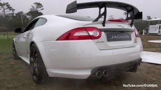 Jaguar XKR-S GT - Start up Exhaust Sound + Jaguar XFR-S