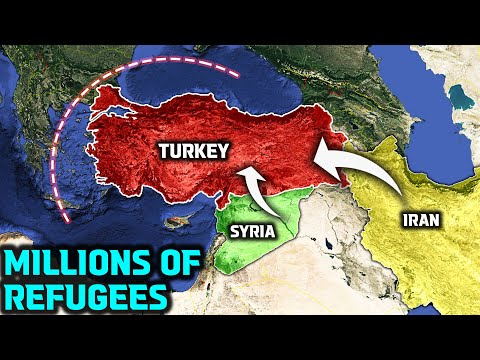 Millions of Syrians and Afghans flow to Turkey