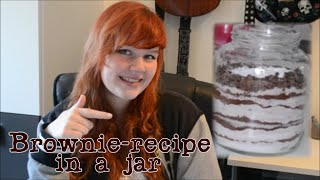 Brownie-recipe In A Jar | Diy Gifts | Macmoustache