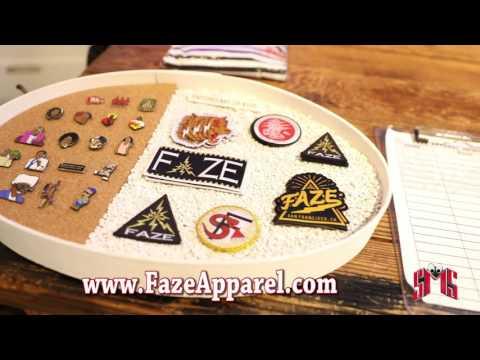 """FAZE Apparel Urban Clothing Store Walk Through *Preview of """"Ok"""" Music Video"""