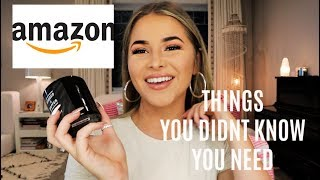 AMAZON FAVORITES PART 3! everything you didn't know you needed