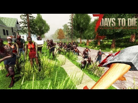 SUPERVIVENCIA ZOMBIE!! #1- 7 days to die - Nexxuz