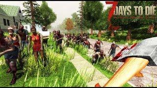 SUPERVIVENCIA ZOMBIE!! #1- 7 days to die - Nexxuz