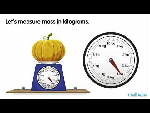 Using a Scale - Kilograms