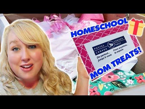 HOMESCHOOL MOM BOX SWAP 2018  // Encouragement for Homeschool Moms // Jamerrill Stewart