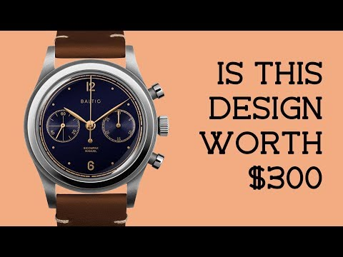 A SOLID $600 Vintage-Inspired Independent Chronograph | RANT&H Review
