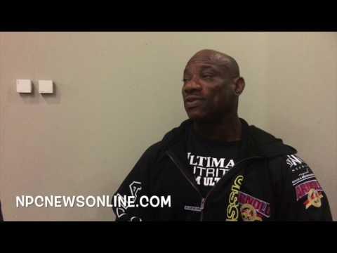 2016 Arnold Classic Europe Winner Dexter Jackson Interviewed By Rico Barakat