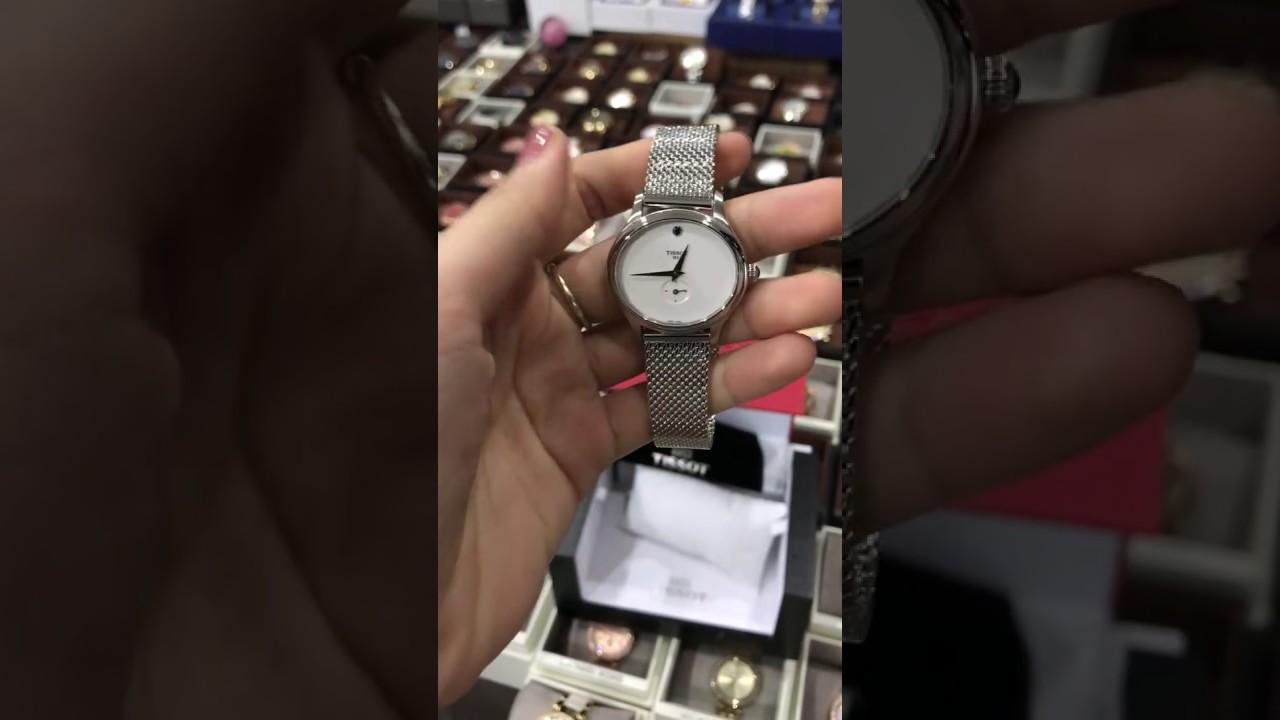Tissot Bella Ora Silver Dial Stainless Steel Ladies Watch Stylis T T0282101105700 Shopny Dongho Donghohanghieu