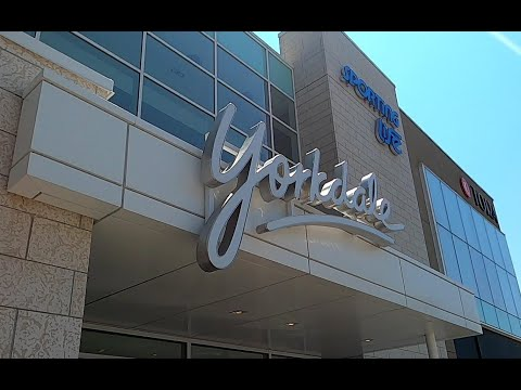 Stage 2 Yorkdale Shopping Centre (Mall) Tour 2020