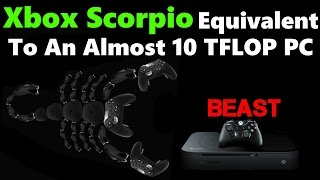 WHOA! Dev Says Xbox Scorpio Power Equivalent To Almost 10TFLOP PC! WOW!!!
