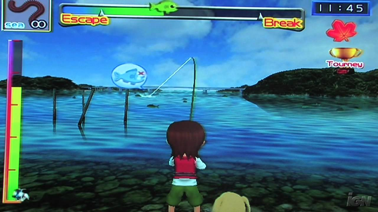 Fishing Master Nintendo Wii Gameplay