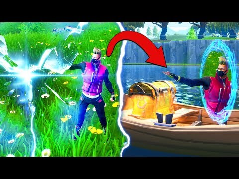 The *PORTAL LOOT* CHALLENGE In Fortnite Battle Royale!