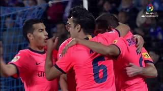 Resumen de Getafe CF vs FC Barcelona (1-3) 2010/2011