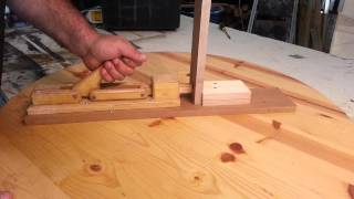 "Woodworking - Homemade ""toggle Clamps"""