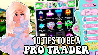 10 TIPS TO GET RICH ON ROYALE HIGH, BEST TRADING GUIDE | Tips & Tricks In Royale High School Roblox