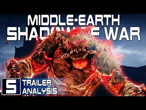 FIRE GRAUG CONFIRMED! - Middle Earth Shadow of War Dominate the Open World Trailer Analysis