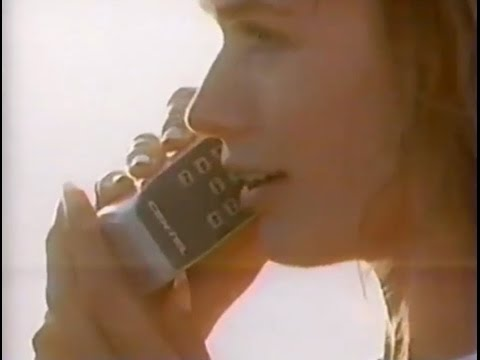 1989 - Centel - first cell phone ad!