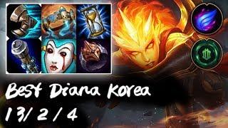Best Diana Korea Mid vs Azir | Korea High Elo Replays